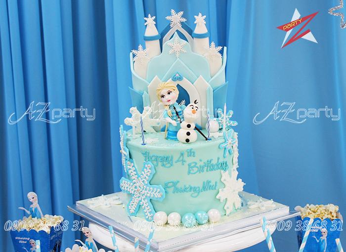 Trang trí bánh sinh nhật theo yêu cầu cho bé yêu