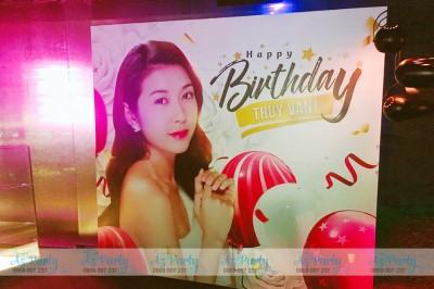 Bất ngờ trước khung cảnh lung linh, độc đáo trong các bữa tiệc sinh nhật của người nổi tiếng
