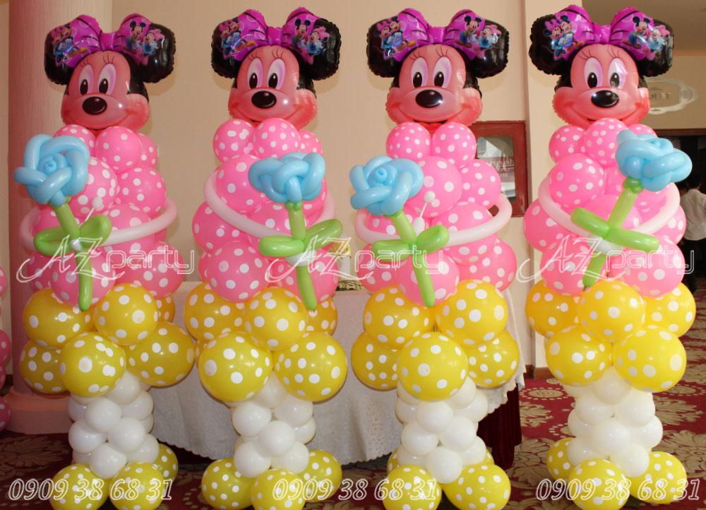 Trang trí Bong bóng sinh nhật chủ đề chuột Mickey