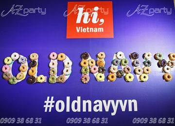 Trang trí khai trương công ty Old Navy