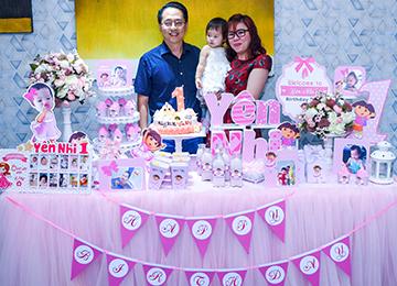 Trang trí sinh nhật cho bé với gói SILVER 01 giá 3.300.000đ