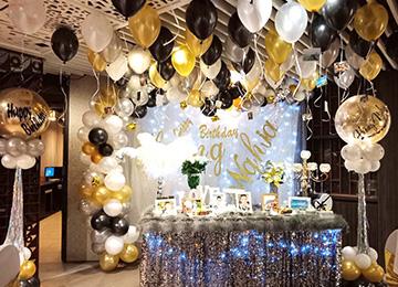 Trang trí tiệc sinh nhật cho người lớn, tiệc sinh nhật lãng mạn, sinh nhật người yêu