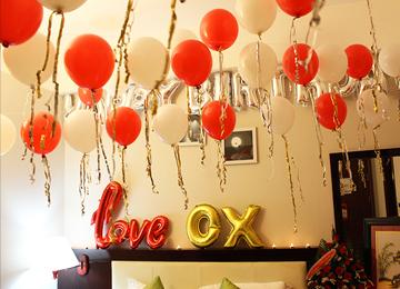 Sinh nhật lãng mạn cho người yêu tại khách sạn