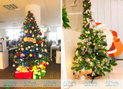 Hướng dẫn trang trí Noel 2019 đẹp tại trường học, văn phòng công ty
