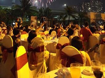 Địa điểm tổ chức tiệc Tất Niên công ty 2020 ngoài trời tại TP. Hồ Chí Minh