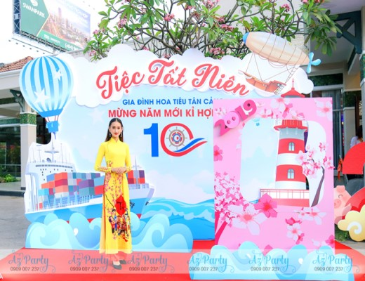 Tiệc Tất Niên 2019 công ty Hoa Tiêu Tân Cảng