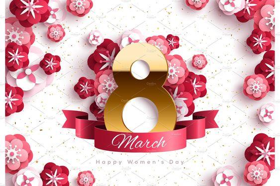Trang trí backdrop cho ngày Quốc Tế Phụ Nữ